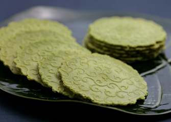 Uji Matcha Rice Cracker